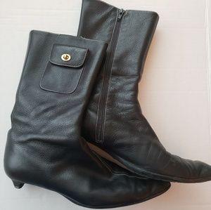 Authentic Vintage Coach Boots